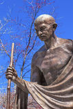 Gandhi Statue Indian Embassy Embassy Row Washington DC Stock Photography