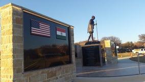 Gandhi staty Royaltyfria Foton