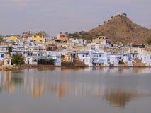 gandhighat Arkivfoton