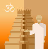 Gandi Stock Image
