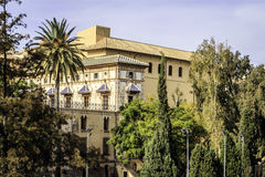Gandia, Валенсия, Испания Стоковые Фото