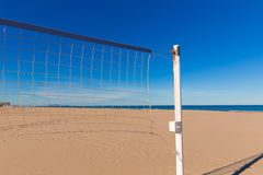 Gandia beach in Valencia Mediterranean Spain Royalty Free Stock Photo
