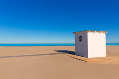 Gandia beach in Valencia Mediterranean Spain Royalty Free Stock Images