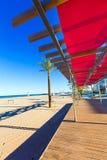 Gandia beach in Valencia at Mediterranean Spain Royalty Free Stock Images