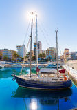 Gandia Nautico Marina boats in Mediterranean Spain Royalty Free Stock Photo
