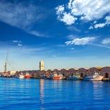 Gandia port puerto Valencia in Mediterranean Spain Royalty Free Stock Image