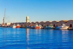Gandia port puerto Valencia in Mediterranean Spain Stock Image