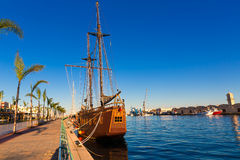 Gandia port puerto Valencia in Mediterranean Spain Royalty Free Stock Image