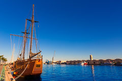 Gandia port puerto Valencia in Mediterranean Spain Stock Photography