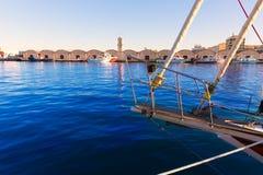 Gandia port puerto Valencia in Mediterranean Spain Stock Photo