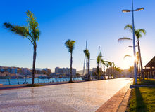 Gandia port puerto Valencia in Mediterranean Spain Stock Photography