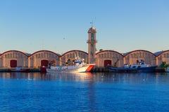 Gandia port puerto Valencia in Mediterranean Spain Royalty Free Stock Photo