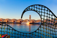 Gandia port puerto Valencia in Mediterranean Spain Stock Photos
