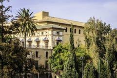 Gandia Valencia, Spanien Arkivfoton