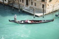gandola传统威尼斯 库存照片