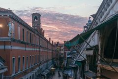 Venezia Sunset stock images