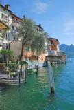 Gandria,Lake Lugano,Ticino Canton,Switzerland Stock Images