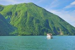 Gandria,Lake Lugano,Ticino Canton,Switzerland Royalty Free Stock Images