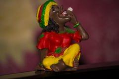 The gandzha. Figurine for memory smokes Stock Images