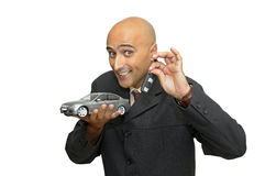 Gane un coche Imágenes de archivo libres de regalías