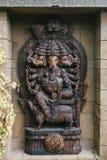 Ganesa eller staty av gudelefanten i Hinduism arkivbild