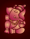 Ganesh例证 库存照片