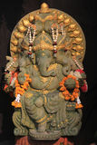 Ganesh印度神雕象在巴厘岛泰国 免版税库存图片