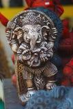 Ganesh印度神雕象在巴厘岛泰国 免版税库存照片