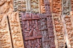 Ganesh雕塑 库存图片