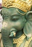 Ganesh雕象在印度 库存照片