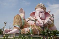 Ganesh雕象 库存图片
