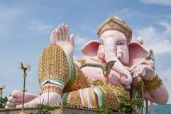 Ganesh雕象 图库摄影