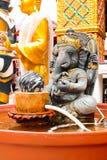 Ganesh är en gud med elefanthuvudet arkivfoton
