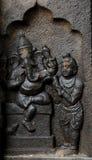 ganesh ινδικό γλυπτό Θεών Στοκ Εικόνες