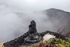 Ganesh στον κρατήρα ηφαιστείων Bromo Στοκ Εικόνες