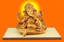 Ganesh. Idol made of porcelain Stock Image