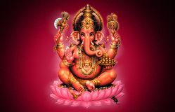 Ganesh royalty free illustration