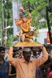 Ganesh节日在孟买 免版税图库摄影