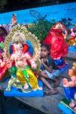 Ganesh Bazaar lizenzfreies stockbild