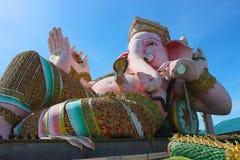 Ganesh. Big blue skies pink Stock Image
