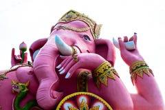 Ganesh. Big Pink Ganesh in Thailand Stock Image