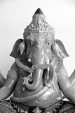 The Ganesh Black and white. Royalty Free Stock Photos