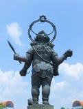 Ganesh Bronze, Ganesh Stand Fotografia Stock
