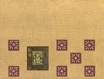 Ganesh card design Royalty Free Stock Photos