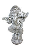 Ganesh carved in granite Stock Photo