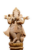 Ganesh carved wood Stock Photography