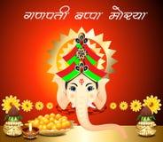 Ganesh Chaturthi Background Royalty Free Stock Photo