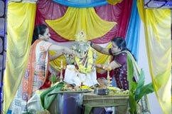 Ganesh Chaturthi, Bangalore, Karnataka, Inde Photographie stock libre de droits