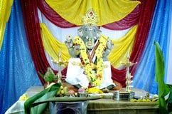 Ganesh Chaturthi Bangalore, Karnataka, Indien Arkivfoto