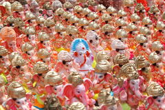 Ganesh chaturthi festival in hyderabad, India Stock Photography